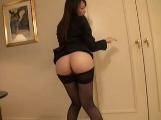 Flight Attendant Miku Aoki In Ripped Off Pantyhose Gets Fucked In Deluxe Hotel