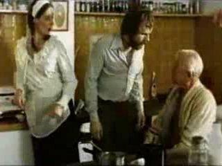 Italian Anal Loving Maid vs Naughty Grandpa Son and Grandson