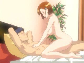 Bigboobs hentai hot riding stiff cock