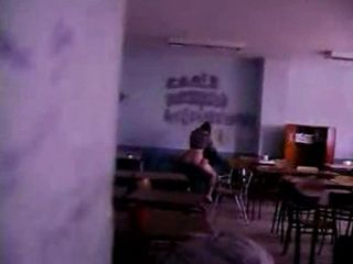 Dude Busted His College Classmates Fucking In The Classroom