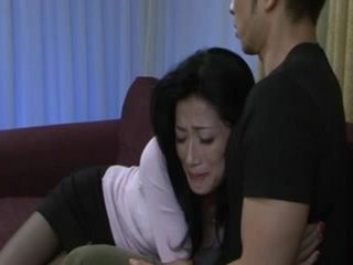 Desperate For Cock Mother Hisayo Nanami Begs Her Son To Fuck Her
