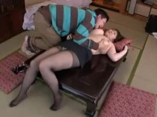 BBW Stepmom Nami Horikawa Swooped and Fucked By Her Horny Teen Stepson