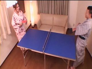 Milf Reiko Kobayakawa Loses Table Tennis Game and Pays With Pussy