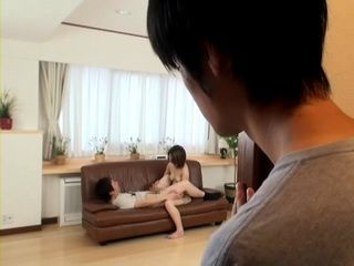 Son Busted His Mom Chisato Kawai Fucking His Best Friend