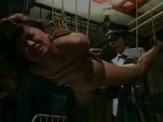 Japanese Female Officer Abuse Poor Prisoner