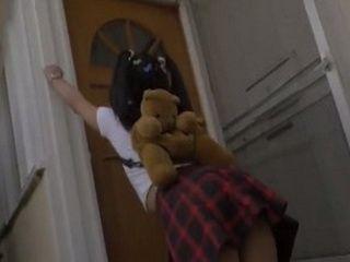 Teen Didnt Know What Will Happen Behind This Lock Door