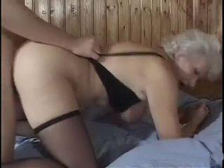 Granny doggied like a bitch