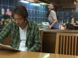 Rude Stepbrother Abuse His Poor Sister Behind His Fathers Back - Kaho Kazumi