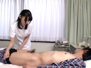Horny Nurse Scrubbed Patient Cock Better Than Any Part Of His Body