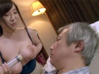 The Only Way To Feed Old Sick Man Was To Feed Him From Her Boobs