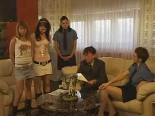 Russian Slaves Girl Spanked