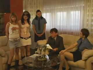 Russian Slaves Girl Spanked
