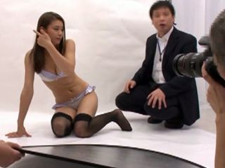 Photoshooting For Sexy Lingerie Turns Into A Hard Fucking
