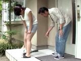 Poor Woman Get Pee Herself In Front Of Some Strangers House And Gets Punished For That - Nozomi Sasayama