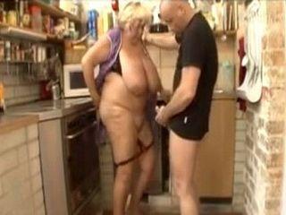 Fat Old Granny Fuck Young Stud Like She Has 19yo