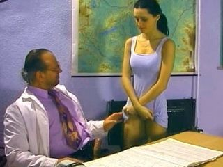 Perverted Evening School Teacher Blackmail Desperate Single Mother To Fuck Him To Get Diploma