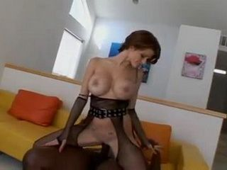 Milf Joslyn James In Sexy Lingerie Take BBC In Both Holes