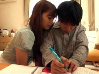 If His Parents Find Out What She Is Teaching Their Son She Will Get Immediate Quit - Hikaru Konno