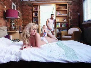 Lustful Blonde Milf Slammed By BWC