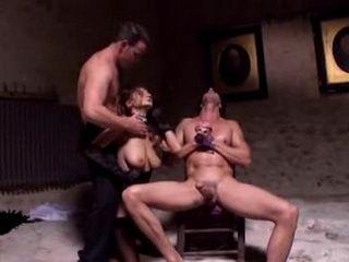 Dark Angel Enjoying Anal Threesome