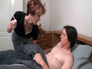 Sinful Mother Came To Boys Bedroom At Night Not Just To Wish Him Good Night