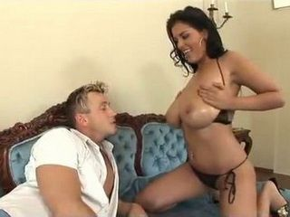 Busty Milf Brunette Is Every Man Dream Come True