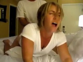 Chubby Wife Taped Hard Doggy Banging With Her Neighbor While Husband Was Away