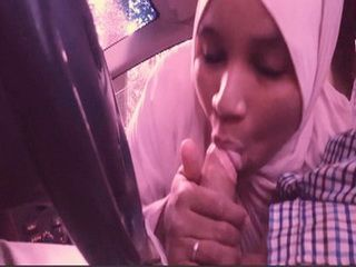 Hidschab-Blowjobs