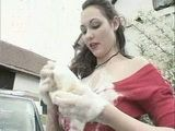 Big Boobs Stepmom Does Car Wash For Fucking