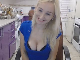 Busty blonde wants to get her boobs bigger