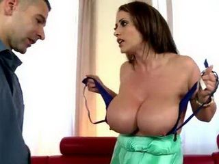 He Must To Feel How Big Her Breasts Are To Get A Right Size Of Bra Next Time