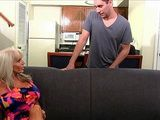 Big Boobs Mature Lets Her Grandson Friend To Fuck Her