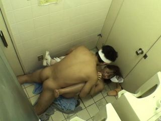 Japanese Nurse Gets Attacked And Force Fucked By Patient In The Toilet