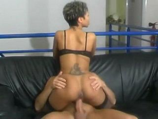 Ass And Pussy Fucking With Ebony