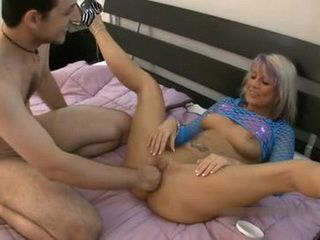 Fisting Is Hidden Fetish Of Kinky Blonde Mom