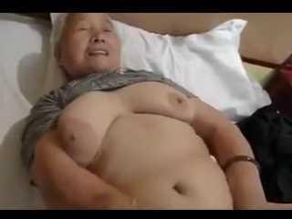 Asian Granny Fucks Like A Young Girl