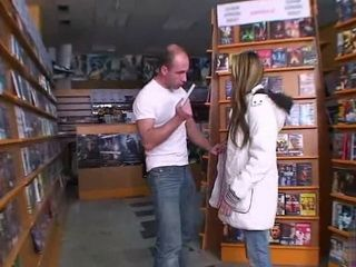 Pissed Manager Caught Girl Stealing In A Book Store And Fuck Her Hard As Punishment