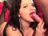 Hard Fucked Brunette Had A Good Fuck With Her Lover