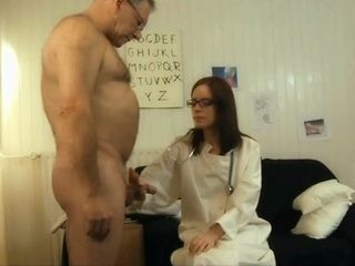Slutty Doctor Has Some Unique Methods Of Taking Sperm Sample