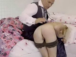 Daddy Punished Rebellious Stepdaughter For Not Going In School
