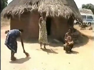 Native Girls Go Crazy For Sex Under Hot African Sun