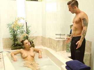 Erotic Massage Turns In A Hard Fucking