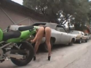 Guy Picked Up Nasty Girl In Trouble On The Road  And Treated Her Very Badly