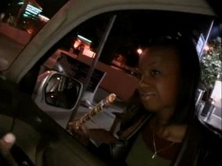 Talking With Stranger Will Get Pretty Ebony Girl With Lolly Pop In Big Trouble