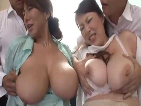 2 Blackmailed Busty Milfs Got Mercilessly Fucked By 2 Evil Teenage Boys