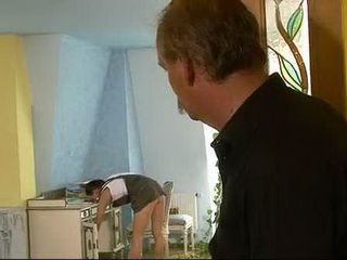 Perv Daddy Jerking On His Hot Stepdaughter