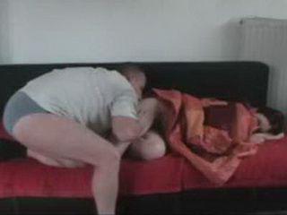 German Husband Abuse His Wife Sleeping Sister