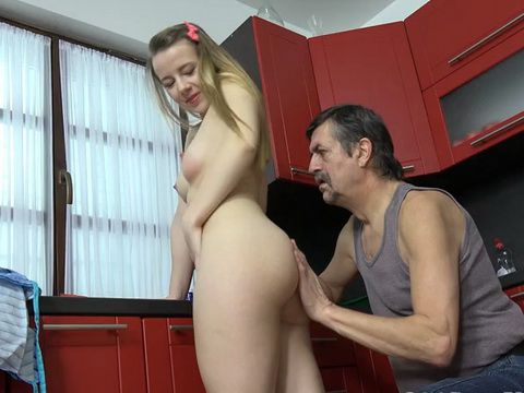 Old Fart Took Advantage Over Naive Teen Girl