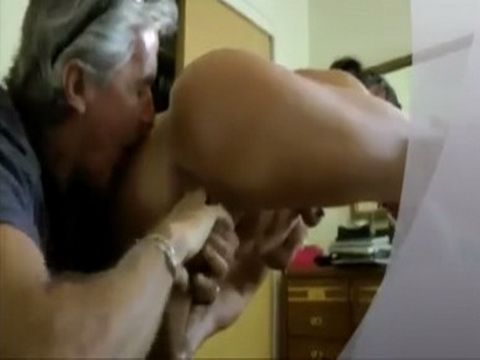 Elder Guy Fingered And Licked Muscle Girls Wet Pussy