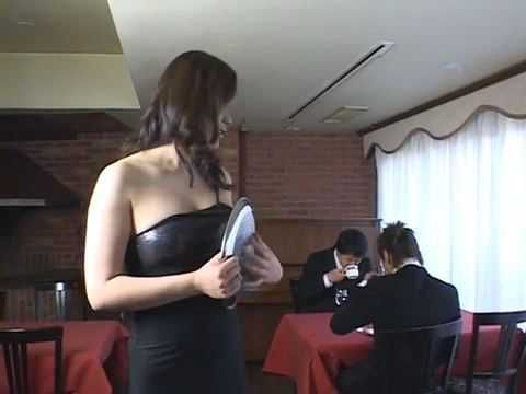 Japanese Waitress Slut Loves To Serve Her Customers How Fitting Uncensored